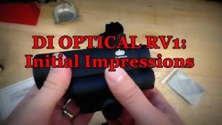 DI Optical RV1: Initial Impressions