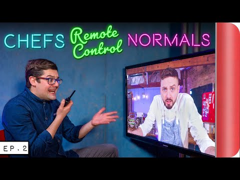 """Chefs """"REMOTE CONTROLING"""" Normals!! Indian Cooking Challenge"""