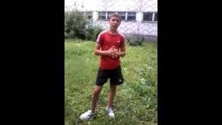 Видео урок по паркуру:заднее сальто