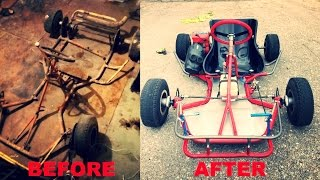 Karting restoration project АКУ-83. Реставрация картинга АКУ-83
