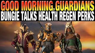 Bungie Announces Life Regen Changes - Destiny Toys Announced - Good Morning Guardians