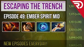 Escaping the trench Dota 2 - 2557 MMR | Ember Spirit Mid | (RAPIER... OR NOT?)