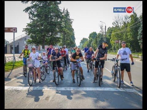 «Лисапедтур»: в Ельце прошла первая велоэкскурсия по городу