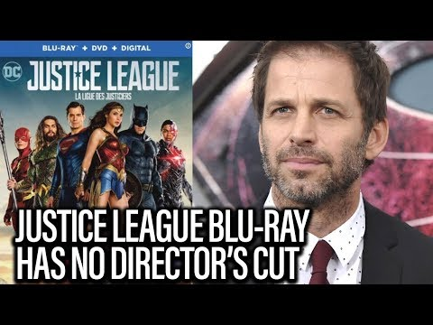 Download Youtube: JUSTICE LEAGUE - No Director's Cut On Blu-Ray