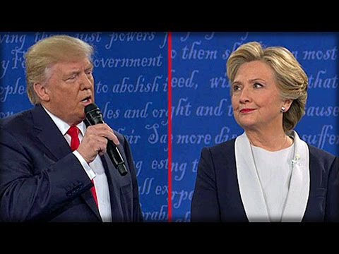 WATCH HILLARY SQUIRM WHEN TRUMP THREATENS HE'LL HAVE SPECIAL PROSECUTOR LOCK HER UP