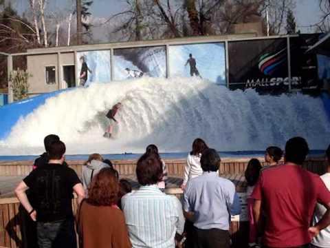 Mall Sport Santiago. Big wave, nice wipeout. Sep 2009