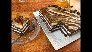 تحت طلبكم 😍 كيكة الشوكولاطة و الكراميل 🎂 و اسرار نجاح البسكوي جنواز خطوة بخطوة 😉
