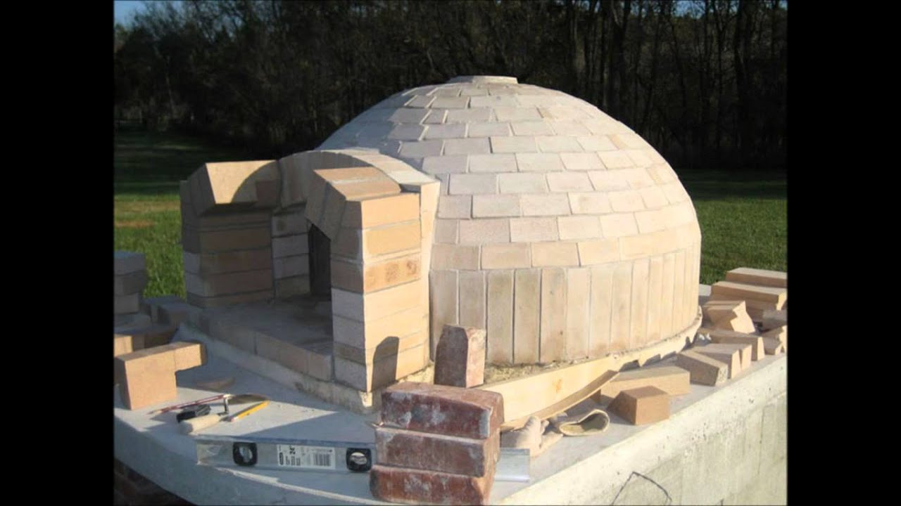 Pompeii italian brick pizza oven construction youtube for Build best construction