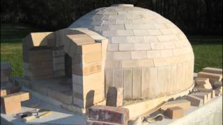 Pompeii Italian Brick Pizza Oven Construction