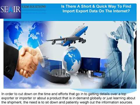 looking for the updated business of India export and import