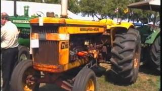 Vieux tracteurs et vieilles machines en Hollande en 96.