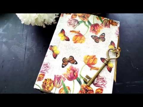 PROCESS VIDEO || How I Embellish My Handsewn Journals