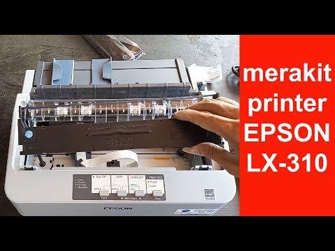 review   cara   instal   pasang   printer   epson lx 310