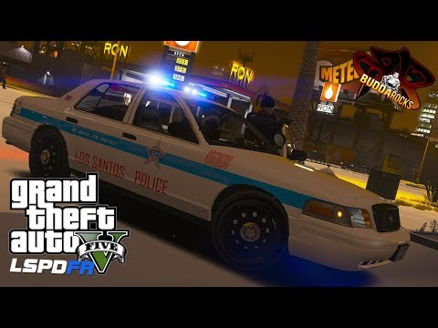 LSPDFR GTA 5 Police Patrol◆LSPD Chicago Police Style CVPI◆Real Life Police Mods