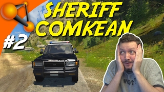 SHERIFF COMKEAN! - BeamNG Drive Dansk Ep 2
