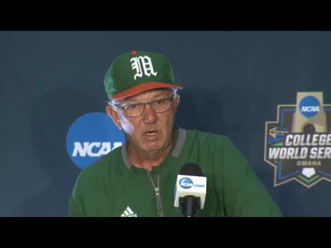 CWS - Game 5 Press Conference (Miami & UC Santa Barbara)