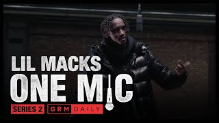 Lil Macks - One Mic Freestyle | GRM Daily