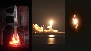 Delta IV launches WGS-9 satellite
