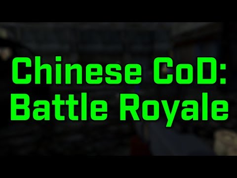 Chinese Call Of Duty:  BATTLE ROYALE!