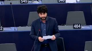 Intervento in aula di Brando Benifei sulla sicurezza europea e futuro del trattato sulle forze nucleari a medio raggio