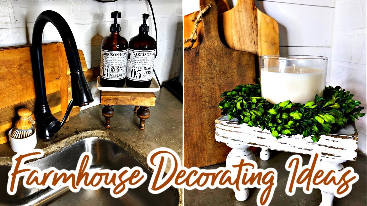 Download FARMHOUSE DECORATING IDEAS WITH RISERS   HOW TO MAKE A FARMHOUSE RISER   SPRING FARMHOUSE HOME DECOR