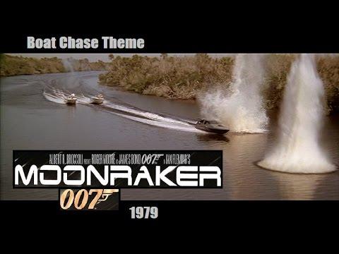 Moonraker - Boat Chase Theme Music Extended 007