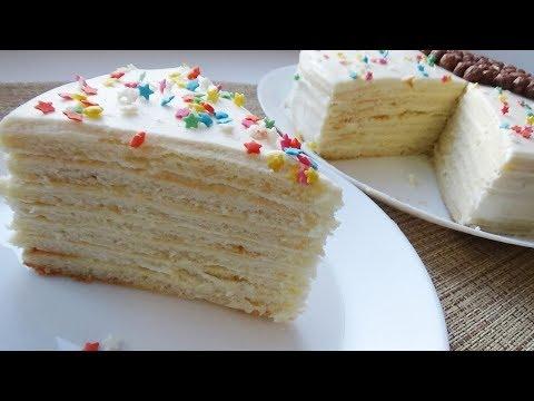 Творожный Торт Легкий и Нежный тортик к чаю!!!