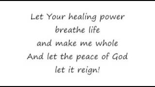 Let the Peace of God Reign - 16x9 lyrics - Hillsong Darlene Zschech