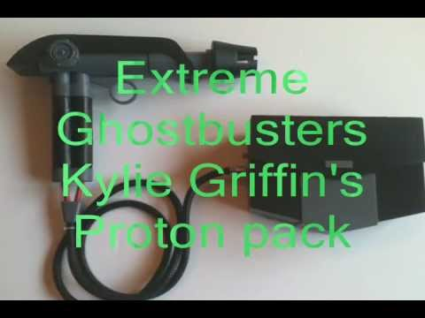 Kylie Griffin Extreme Ghostbusters Proton Pack And Pistol