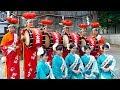 [4K]ミスさんさ踊り2018 お披露目 三ツ石神社で奉納演舞| 岩手・盛岡観光動画
