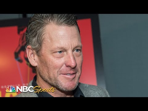 Tour de France 2019: Lance Armstrong shares early impressions of the TDF   NBC Sports