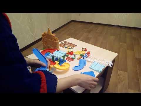 Распаковка Железная дорога Qi Yue Объемная (2206A)   из Rozetka.com.ua