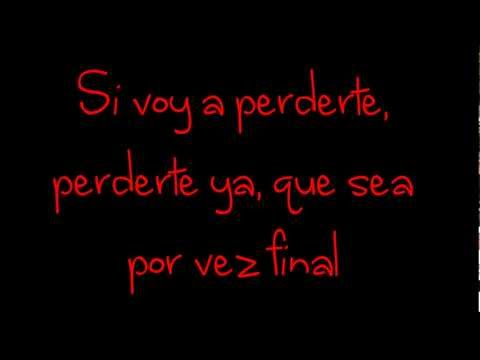 Glee - Don't Wanna Lose You (Si Voy A Perderte) (Lyrics) HD