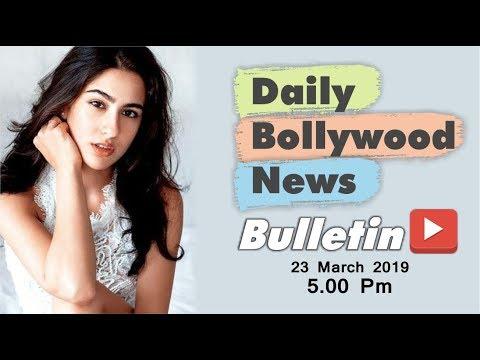 Latest Hindi Entertainment News From Bollywood | Sara Ali Khan | 23 March 2019 | 05:00 PM