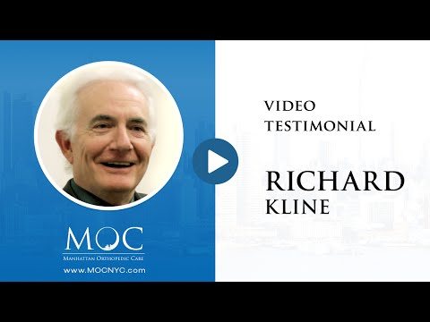 Richard Kline's Video Testimonial: