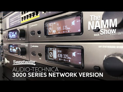 Audio-Technica 3000 Series Network Wireless at Winter NAMM 2020