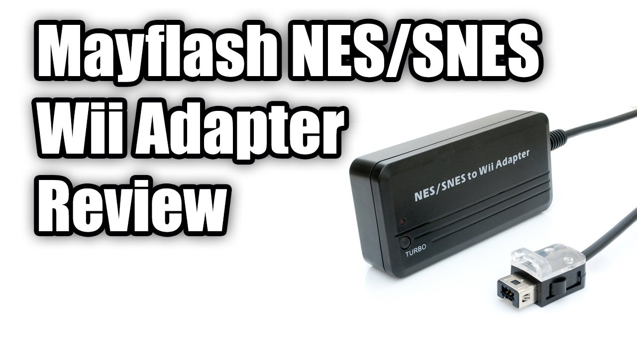 Review of Mayflash NES/SNES Controller Adapter for Wii & Wii U