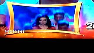 Sanaya Irani performance at Indian Telly Awards 2013 - promo