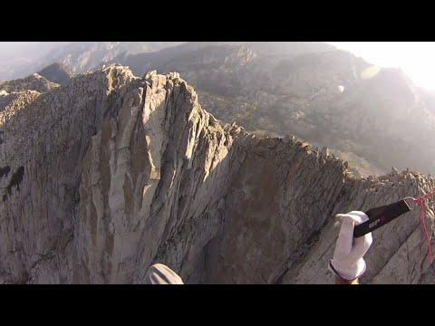 Spectacular Paramotor Flight -- Rocky Mountain High - Over Lone Peak