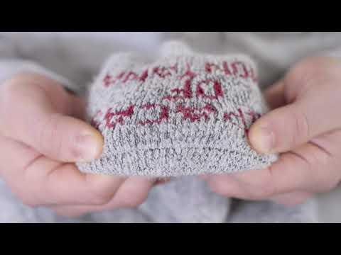 Warm Arctic Over-the-Calf Alpaca Boot Socks