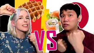 ベルギーVS日本で「食」を語ったら日本の圧勝だった件