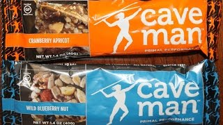 Caveman Foods: Cranberry Apricot & Wild Blueberry Nut Nutrition Bar Review