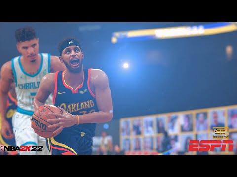 Steph Curry vs. Lamelo! | NBA 2K22 Season Showcase | Hornets vs. Warriors | PC Overhaul