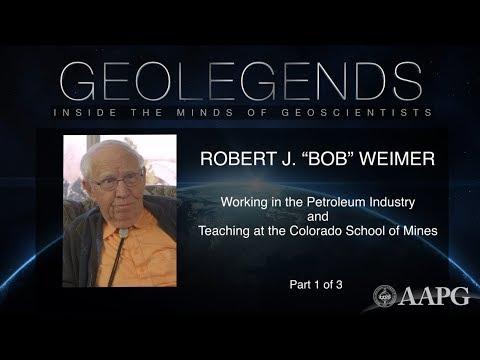 Watch GeoLegends: Bob Weimer - Petroleum Industry & Colorado School of Mines