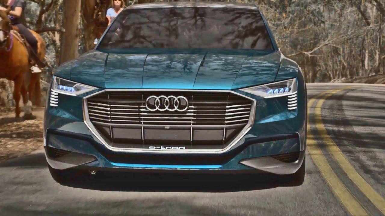 Audi Etron Quattro >> Audi E Tron Quattro Concept Footage Youtube