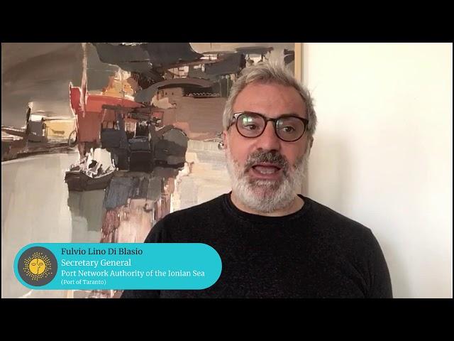 MedCruise member Fulvio Lino Di Blasio, Secretary General, Port Network Authority of the Ionian Sea