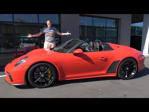 Porsche 911 Speedster 2020 года - это 911 мечты за $300 000