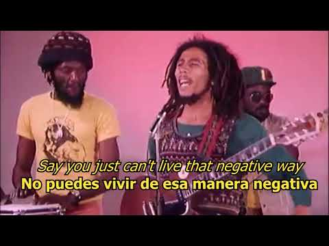 Positive Vibration - Bob Marley (LYRICS/LETRA) (Reggae+Video