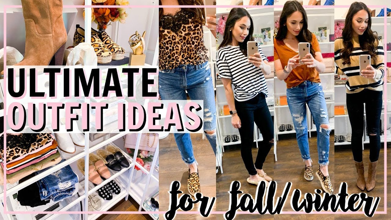 WHAT TO WEAR NOW! ULTIMATE FALL WINTER 2018 OUTFIT IDEAS | Alexandra Beuter