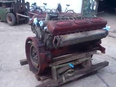 neuzugang panzermotor v12 diesel 38,9l hubraum - youtube